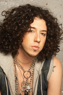 Modern Curly Hairstyles - Haircut  For Men 2010