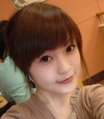 cute asian hair style with big side bangs cute hairstyle with bangs and long