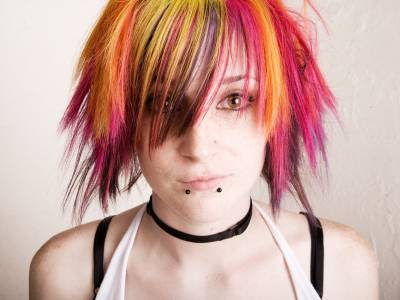 popular girls hairstyles. short punk hairstyles for girls.