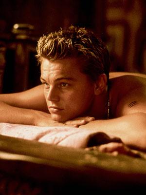 leonardo dicaprio romeo costume. Leonardo di Caprio (outgrew