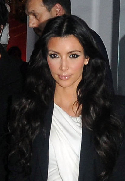 kim kardashian hair straight. kim kardashian hairstyles for