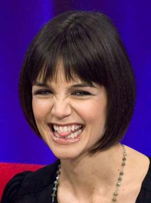 Katie Holmes Fashion style - Short bob pixie cut