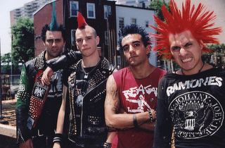 Trend Man Punk Mohawk Hairstyles 2010