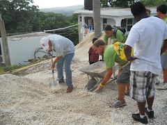 workday at the Robin's Nest Orphanage with Lebanon Baptist team