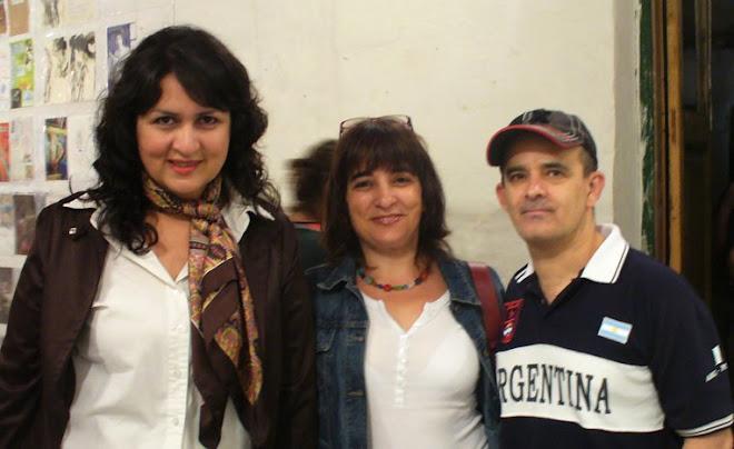 PRESENTACION DE SELLOS POSTALES EN LA BARRACA VORTICISTA
