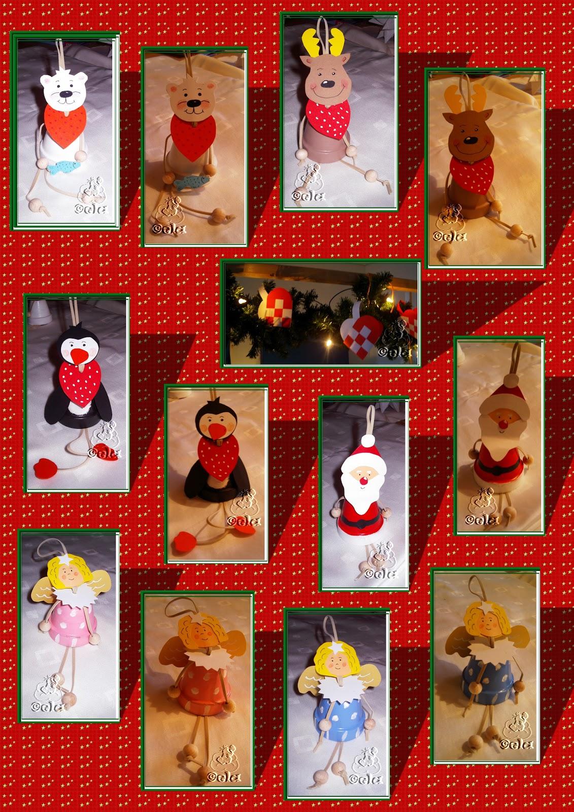 basteln tontopf figuren, kreativkiste: weihnachtliche tontopf - figuren, Design ideen