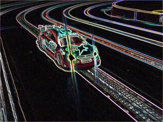 Slot car wallpaper
