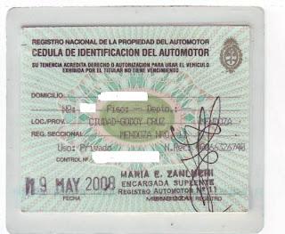 """tramites para vender un auto usado en argentina """"ojo&am"""