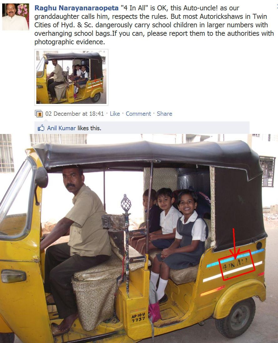 Auto rickshaw drivers of hyderabad were are and unchecked continue to grow into more and more notorious and arrogant stature at railway stations and bus