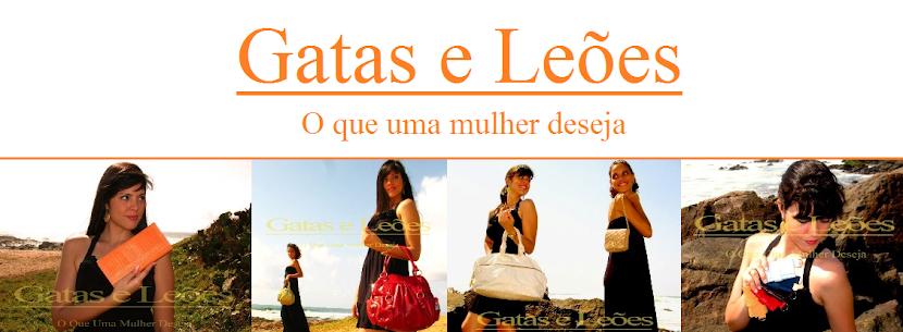 GATAS E LEÕES handbags