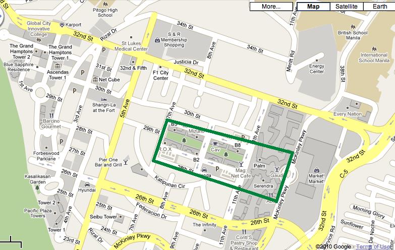 How To Get To Bonifacio High Street and Serendra Directions