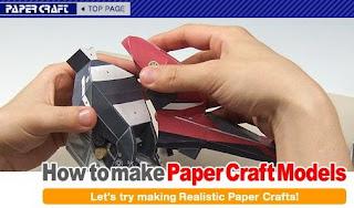 yamaha origami27b Papercraft   Assemble Yamaha Motor Sport With Paper
