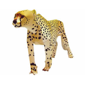 cheetah thl.jpg Canon Creative Park   Free Origami Gallery