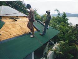 impermeabilización de techo de madera