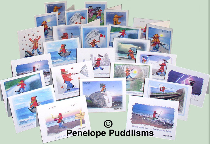 Places In South Surrey & White Rock where my Penelope Puddle greeting cards can be found: