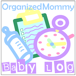 Organized Mommy Baby Log