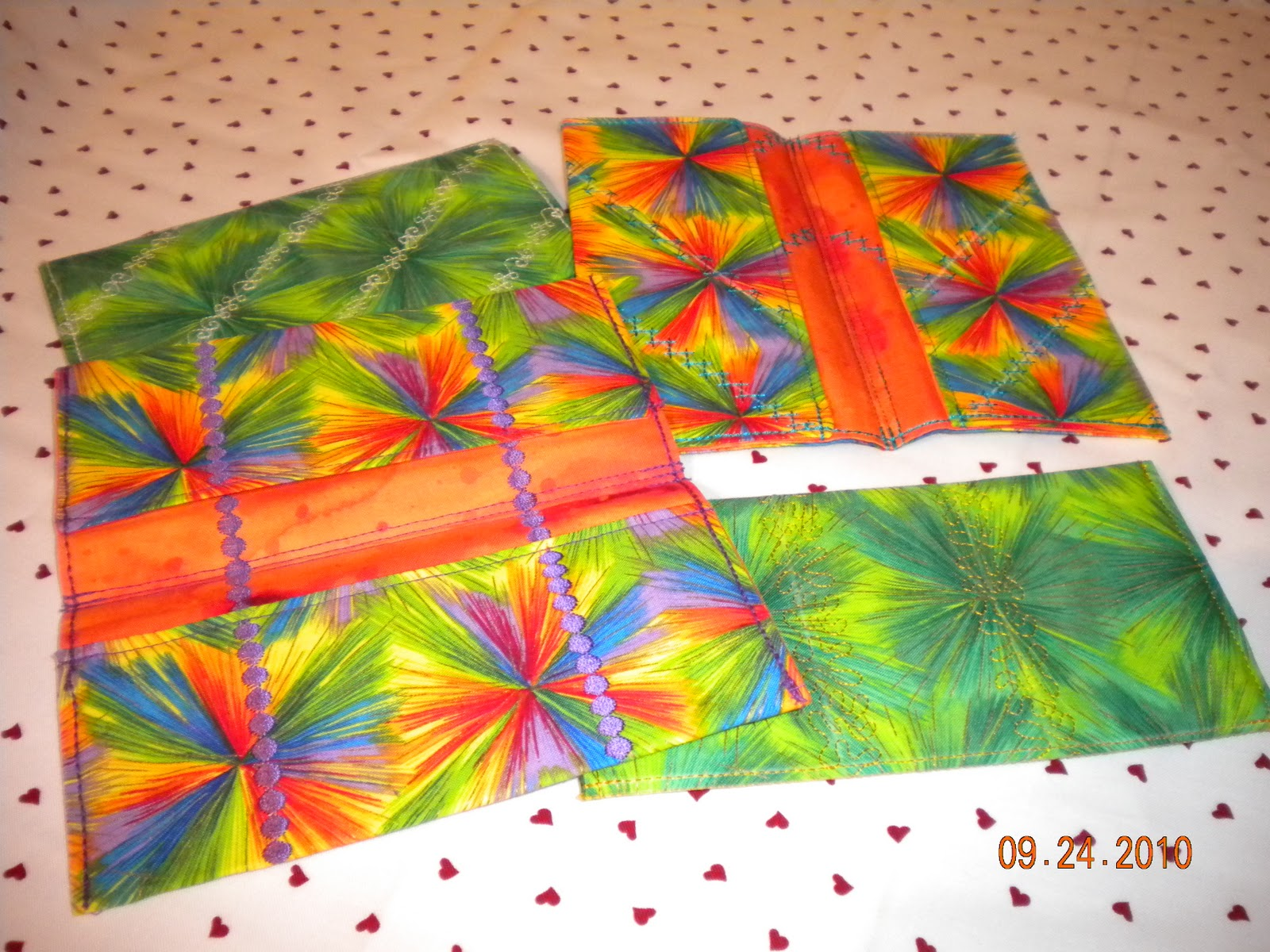 Book Cover Handmade Quilts : More check book covers ankas quilts and other quilted