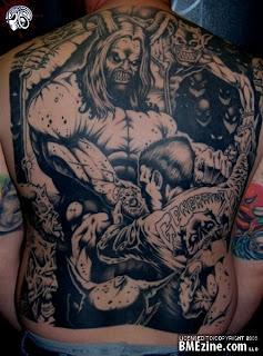 Best Tattoo Design on Back Body