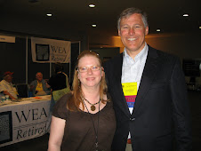 Veronica Cook and Jay Inslee