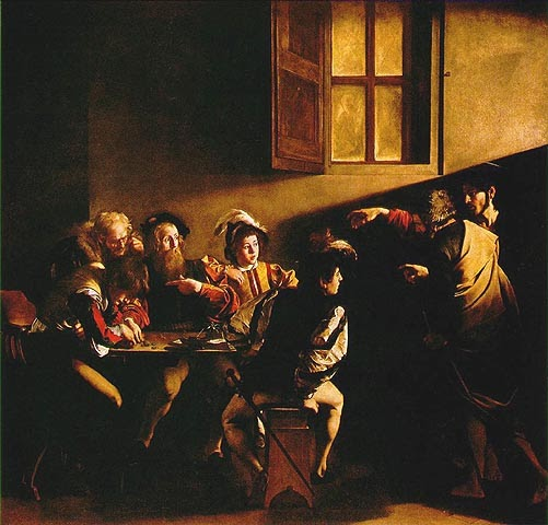 Caravaggio Call Of Matthew. The Calling of St. Matthew by