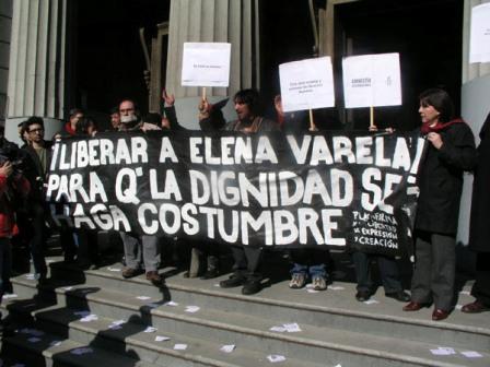 ELENA VARELA DOCUMENTALISTA PERSEGUIDA