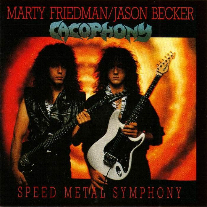 Cacophony SpeedMetalSymphony Front - MeTal Oda [ 2 ]