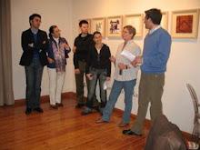 INAUGURACIÓN EXPOSICIÓN, Galería Rafael (Valladolid) 08-04-2008