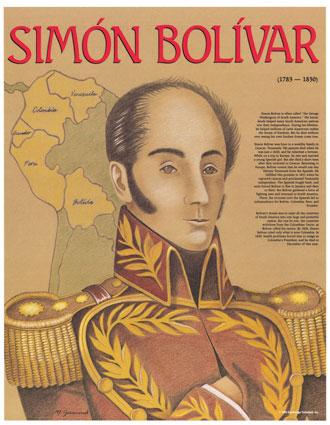 Simon Bolivar padre de la patria..