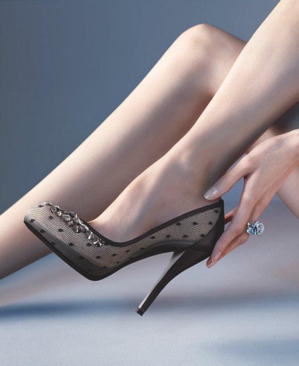 Şık Topuklu Ayakkabılar (: