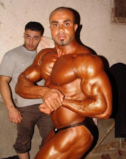 Handsome and beautiful muscles arab egyptian bodybuilder ahmed kader