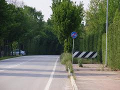 pista ciclabile via Milano