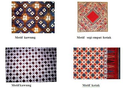 yang termasuk motif geometris adalah motif banji ceplok kawung anyaman