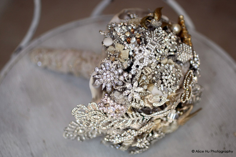 More Goodies to bid on Brooch Bridal Bouquet