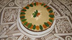 Aszaltsárgabarackos torta