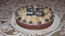 Kékáfonya torta