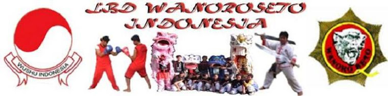 WELCOME TO LBD WUSHU WANOROSETO INDONESIA
