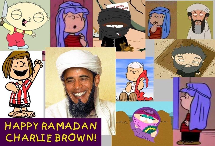 happy ramadan charlie brown