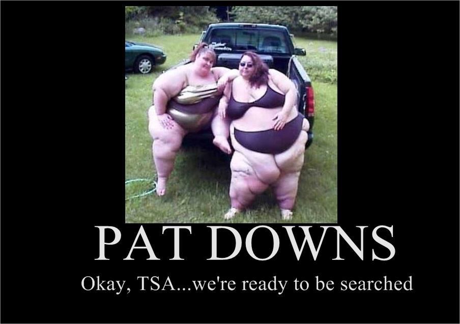 tsa pat down ladies
