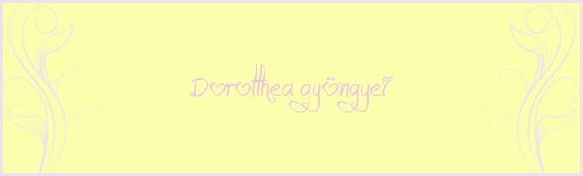 Dorotthea gyöngyei