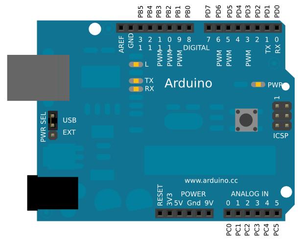 Arduino на atmega168 своими руками