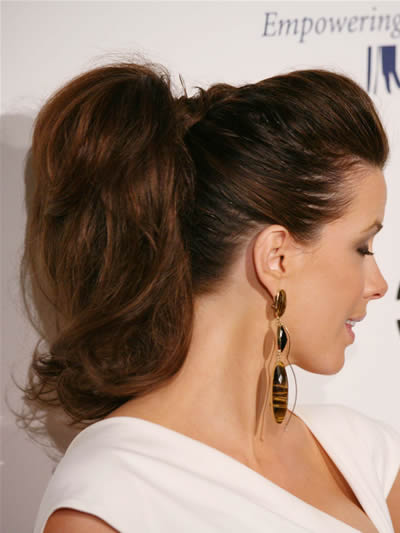 Ponytail is a haircut that is great for young and older women also.