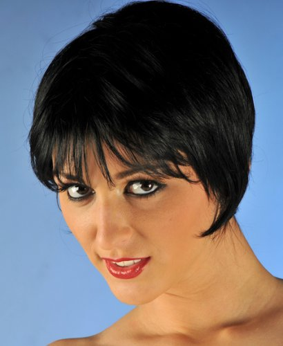Just as with long haircuts, short hair can also be styled to look great.