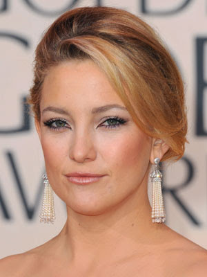 Kate Hudson Easy Updo Hairstyles