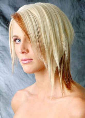 medium length female hairstyles.