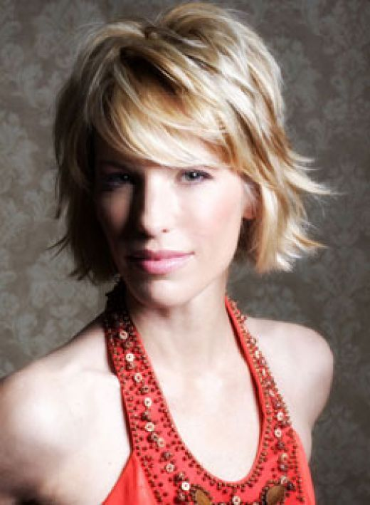 short haircuts for round faces. hairstyles short round face