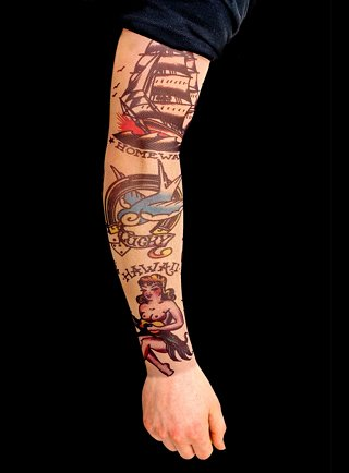 sleeves tattoo. Sleeve Tattoo Pictures