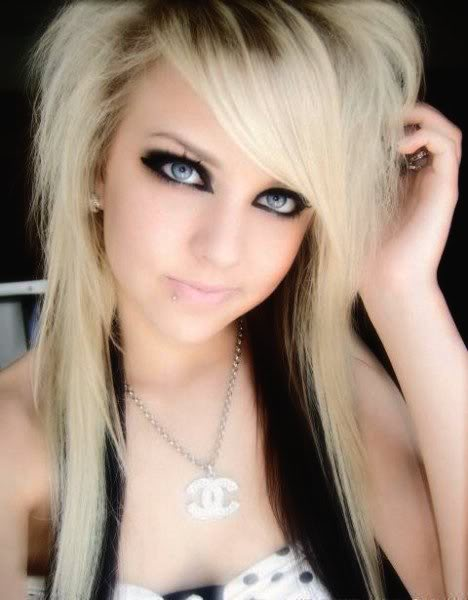 New Haircuts And Hairstyles 2010 Blonde Emo Hairstyles For