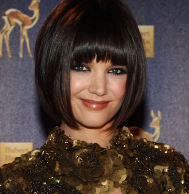 katie holmes hair do