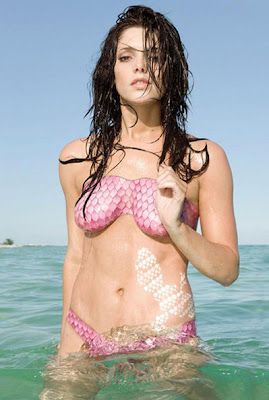 Celebrity Body Painting - Ashley Greene