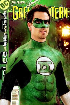 Green Lantern Body Painting
